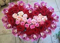 Букет роз на выписку