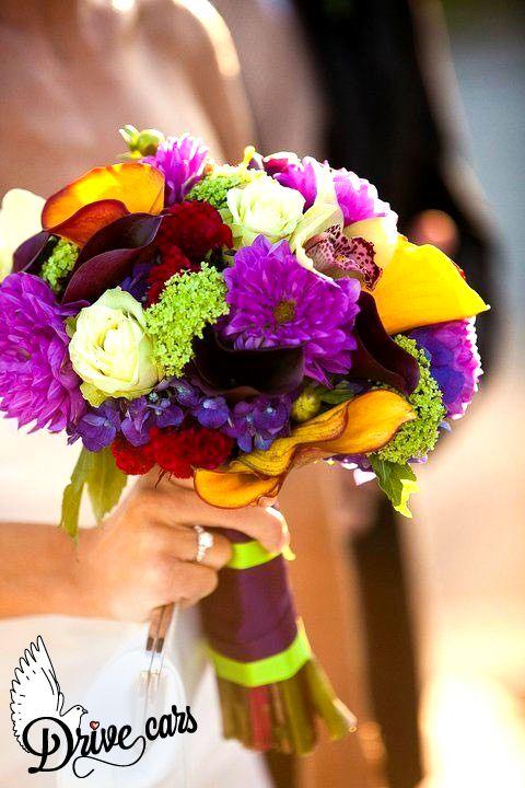 Цветов ветки, разноцветный букеты для невесты минске