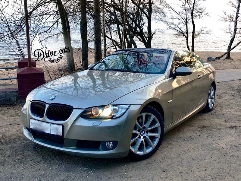 rent cabriolet bmw 3 beige in spb 4