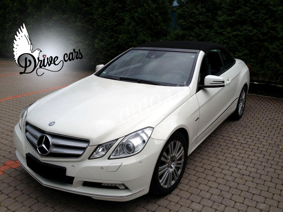 rent mercedes cabrio white 2a 4