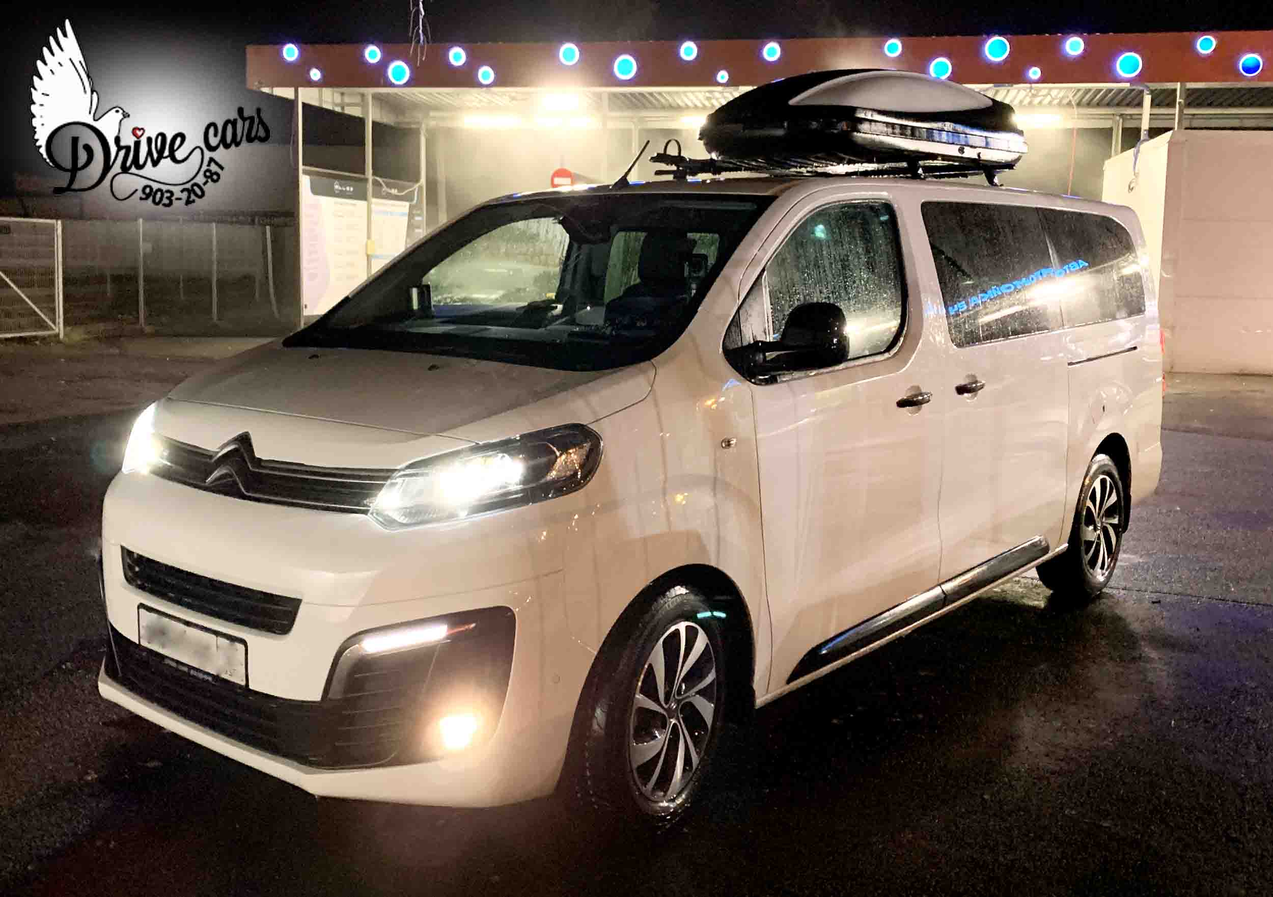 rent microbus Citroen Space Tourer 1