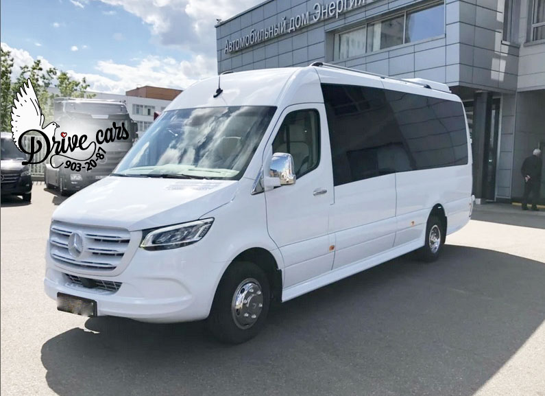 rent mercedes sprinter 519 white