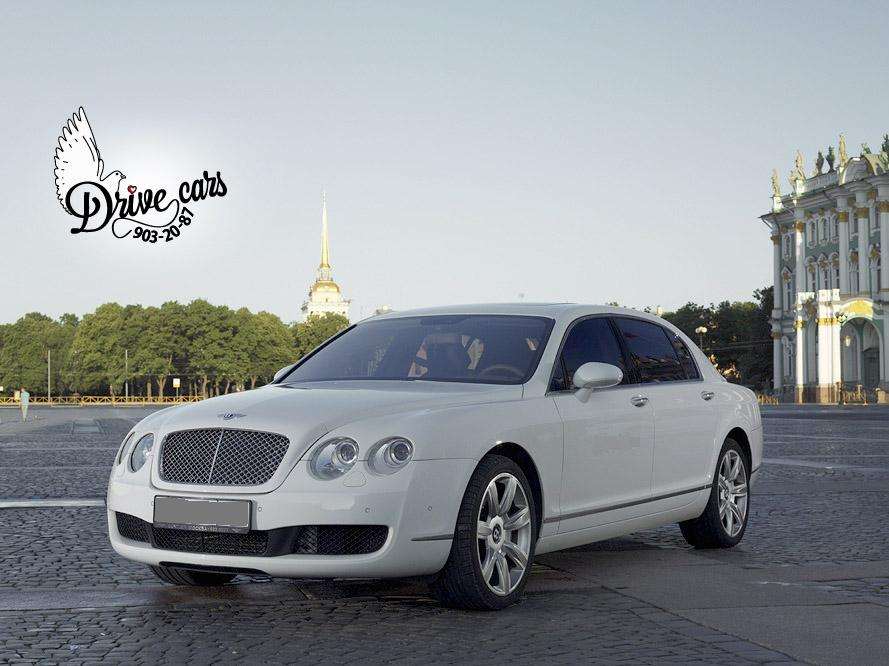 rent bentley continental fly spur white 1 2