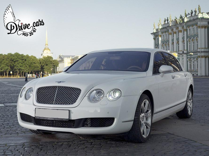 rent bentley continental fly spur white 1 5