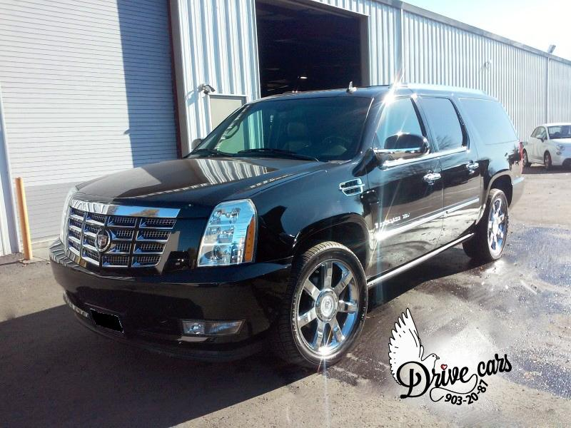 rent cadillac escalade black 2